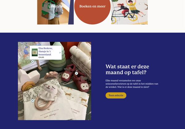 Website voor de Stokstaart shop