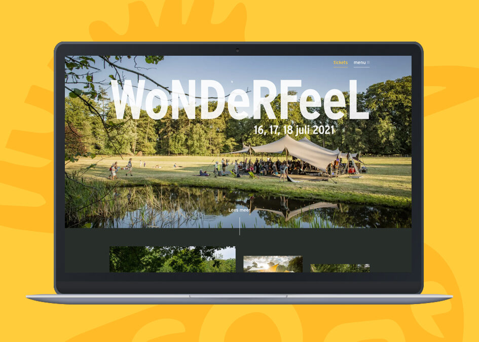 Wonderfeel festival website